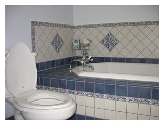 Totally new bathroom.